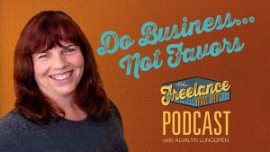 Freelance Road Trip Podcast: How To Manage Scope Creep by Alvalyn Lundgren