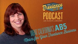 Freelance Road Trip Podcast Episode 14 hosted by Alvalyn Lundgren