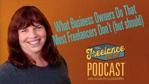Freelance Road Trip Podcast Episode 15 hosted by Alvalyn Lundgren