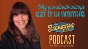 Freelance Road Trip Podcast with Alvalyn Lundgren episode 25