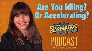 Freelance Road Trip Podcast with Alvalyn Lundgren episode 58